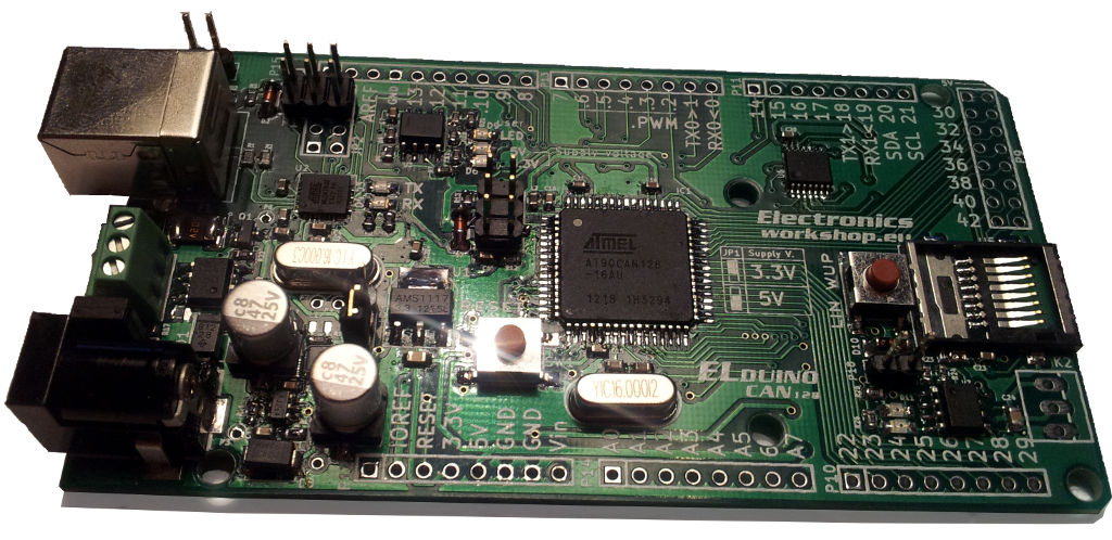 Elduino CAN128 prototype