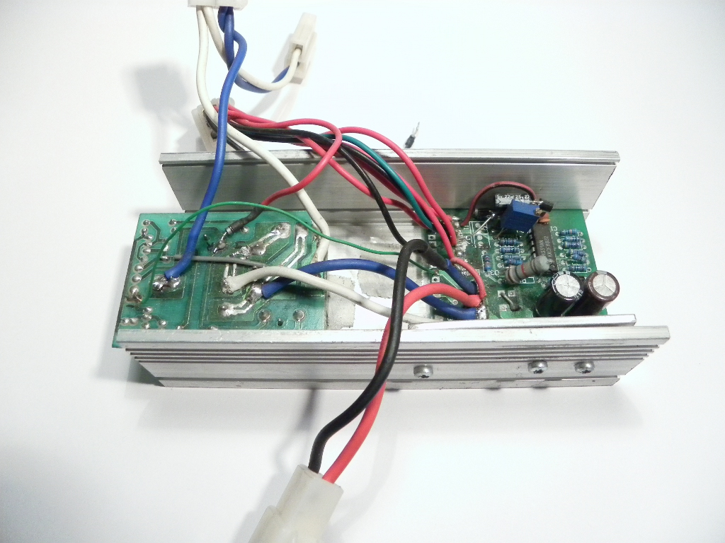 DC motor controller without cover ...