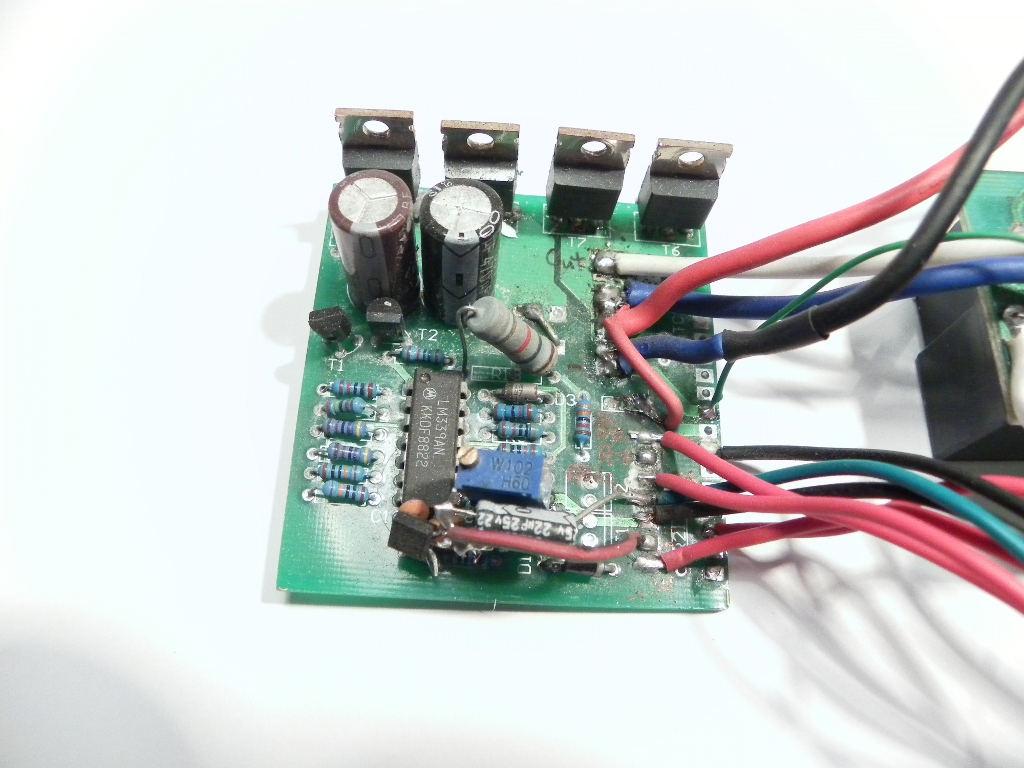 Reverse Engineering A Chinese Segway Working Principles Of Motor Speed Controller Schematic Dc Main Board