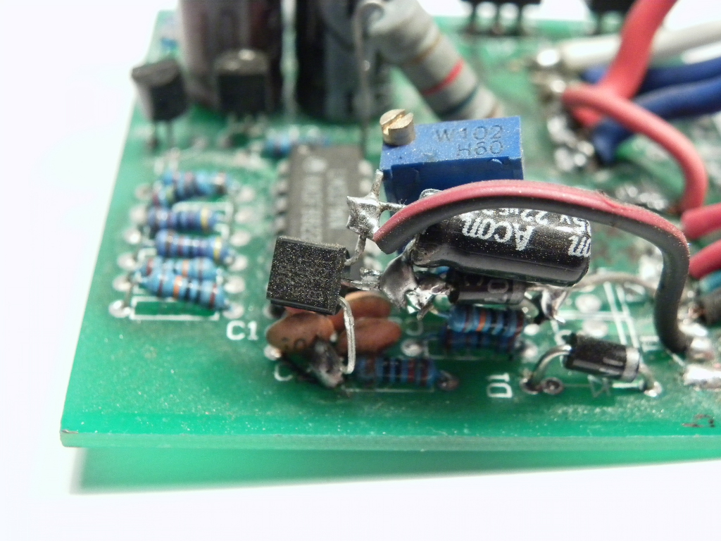 Reverse Engineering A Chinese Segway Working Principles Of Motor Wiring Diagram Bottom Side Voltage Delay Circuit